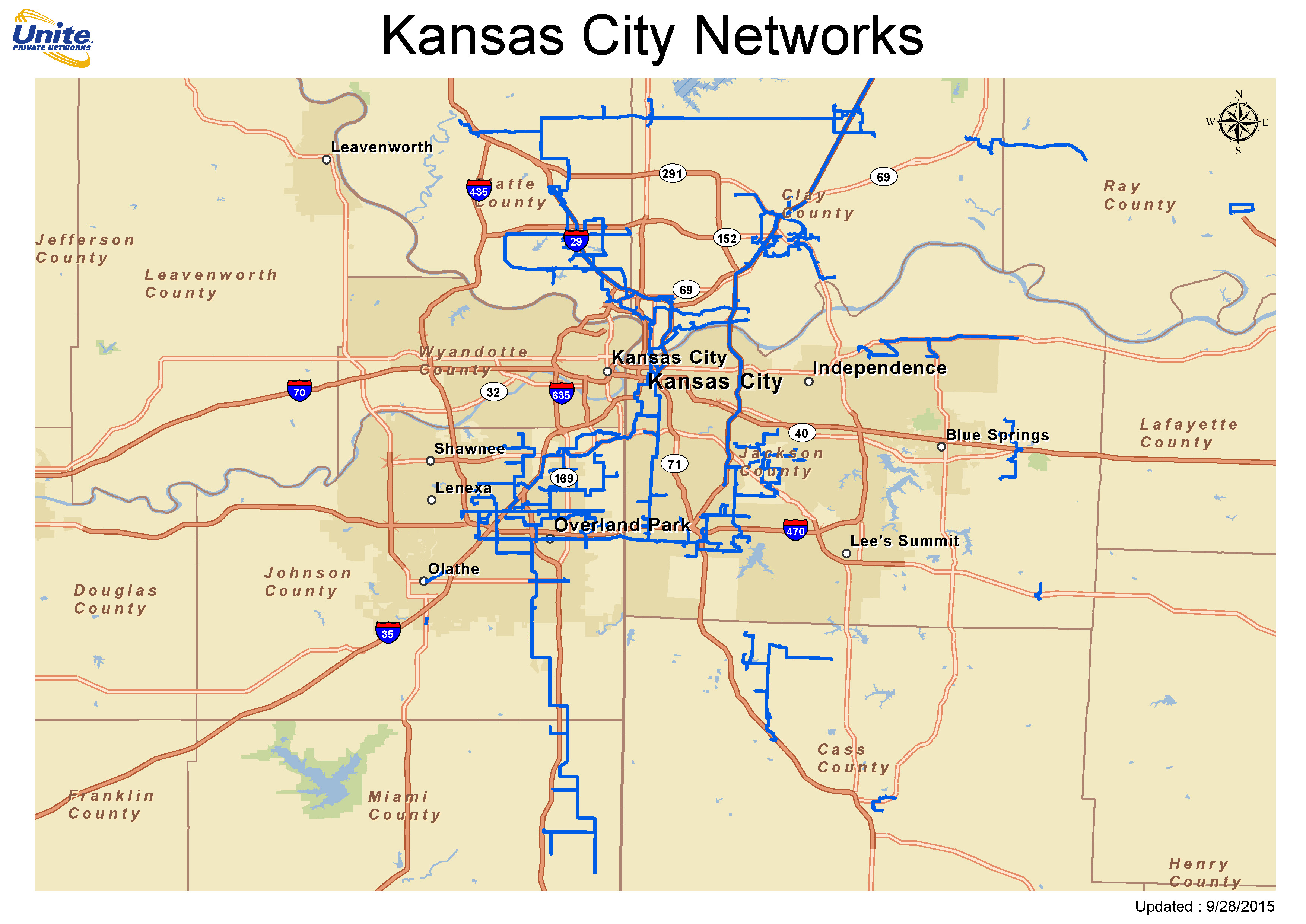 Metro Fiber Maps  UPN