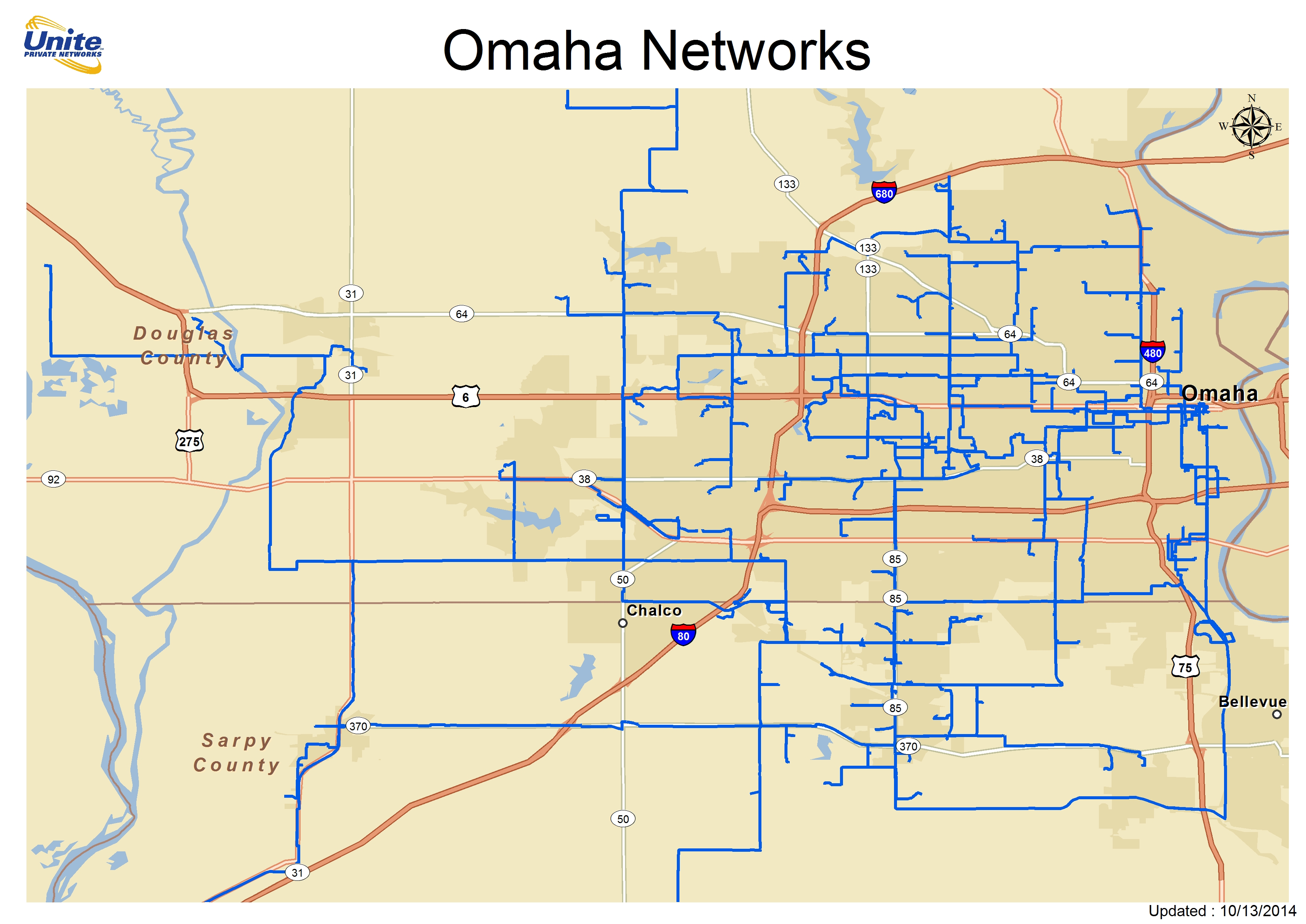 Metro Fiber Maps: Great Plains | Telecom Ramblings