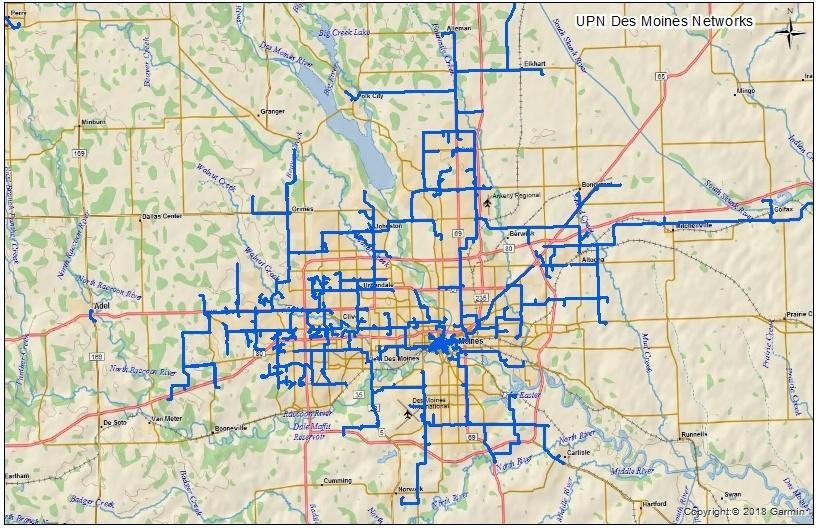 Metro Fiber Maps Unite Private Networks
